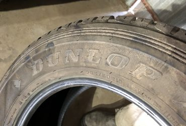 285/60R18 Dunlop Grandtrek AT22 – AS NEW