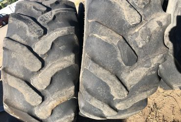 21L28 Goodyear stubble damaged