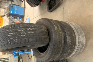 4X 245/60R18 MICHELIN LAT TOUR