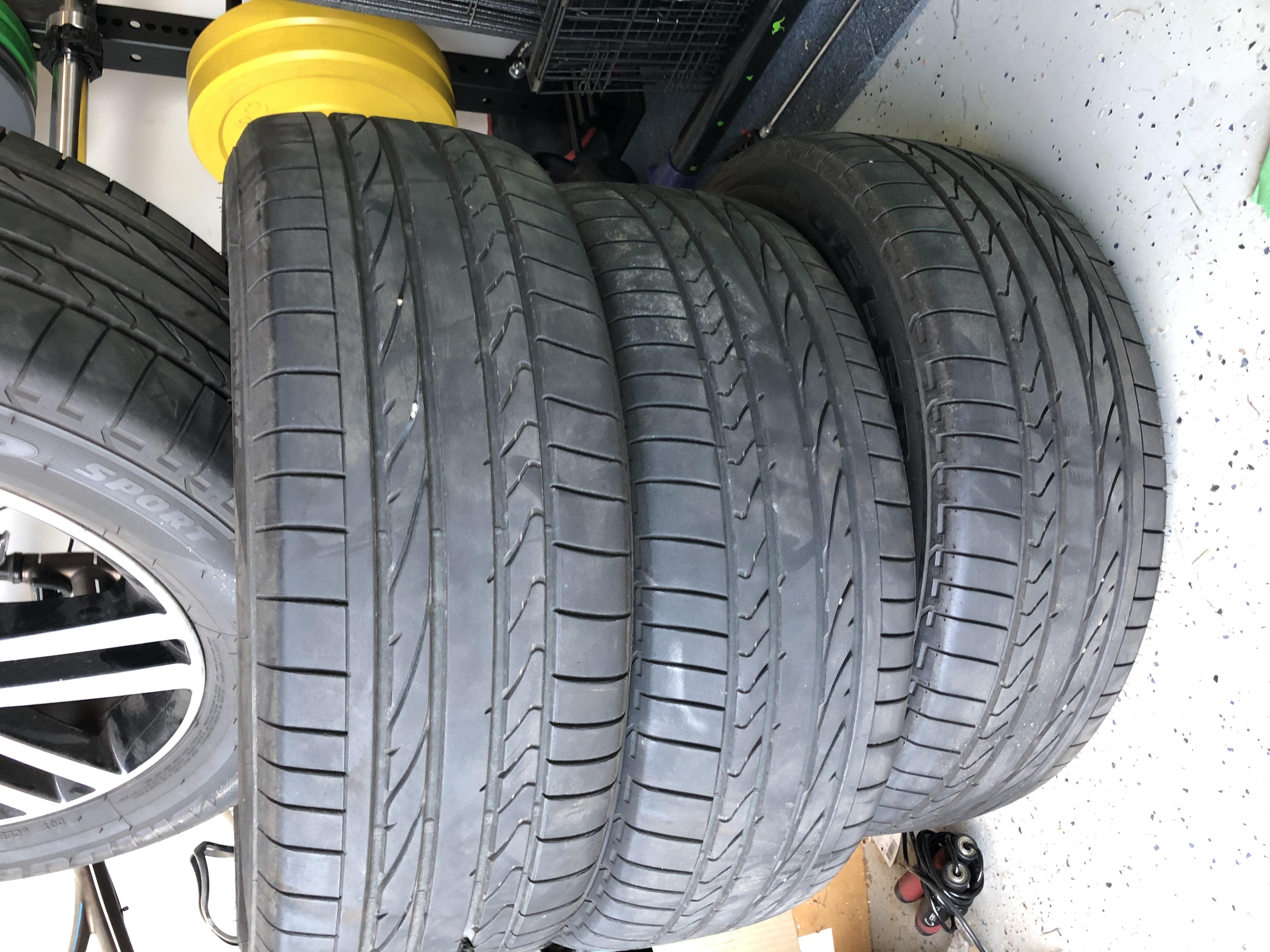 Used 255×65 R19 Bridgestone Dueler H/P Sport