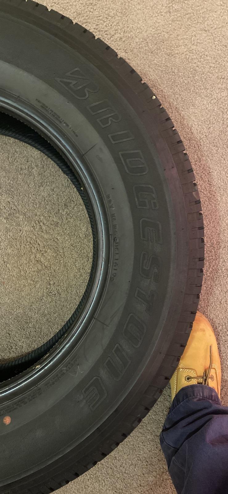 3 X new Bridgestone A/T Dueler  693II