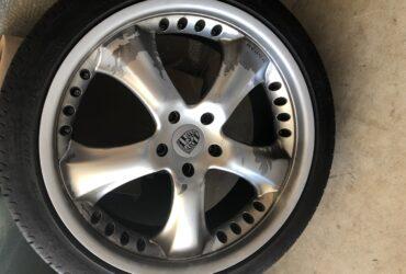 """Porsche Cayenne 22"""" Wheel Rims & Tyres"""