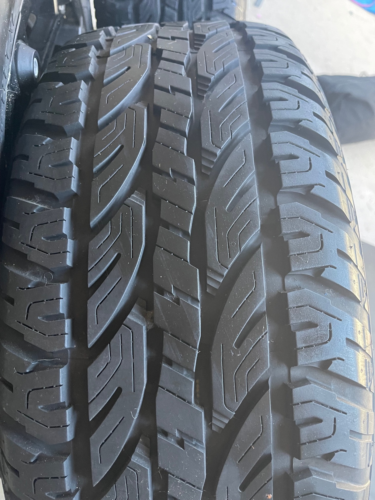 DUREVOLE AT265/50R20 111T with Black 20 inch GENUINE BLADE SERIES 4 4X4 SUV NEW RELEASE ALLOY WHEELS